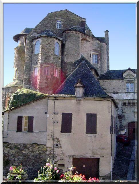 Diaporama château d'Estaing