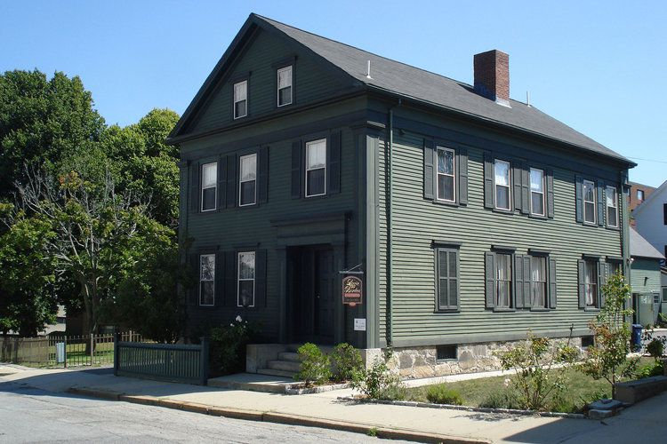 "Vente de la maison de la tueuse Lizzie Borden, Fall River, Massachussetts ""www.psycho-criminologie.com"""
