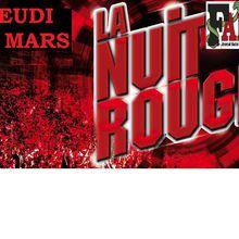 NUIT ROUGE : LE 31 MARS, ON NE RENTRE PAS CHEZ NOUS !