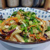 Repas d'un soir #41 : Nouilles Japonaises Sautées aux Légumes de Décembre! - LacLac!