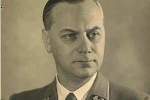 From the archive: Rosenberg gives evidence at Nuremberg