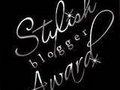 stylish blogger award,merci pour le tag!