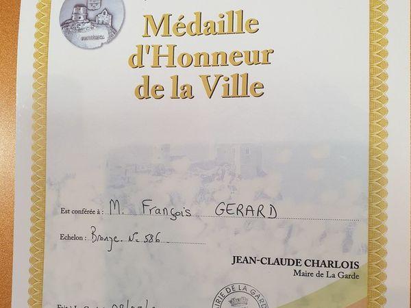 François Gérard à La Garde (83) le 8 août 2019.