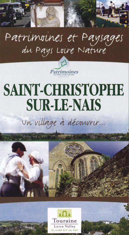 """Le dépliant permettant de suivre le parcours, dans la collection """"Patrimoine et Paysages du Pays Loire Nature"""