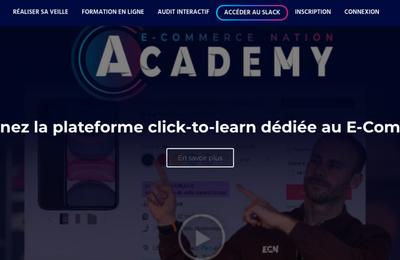 [ECOMMERCE NATION] Lancement d'une plateforme de formation en ligne pour E-commerçants