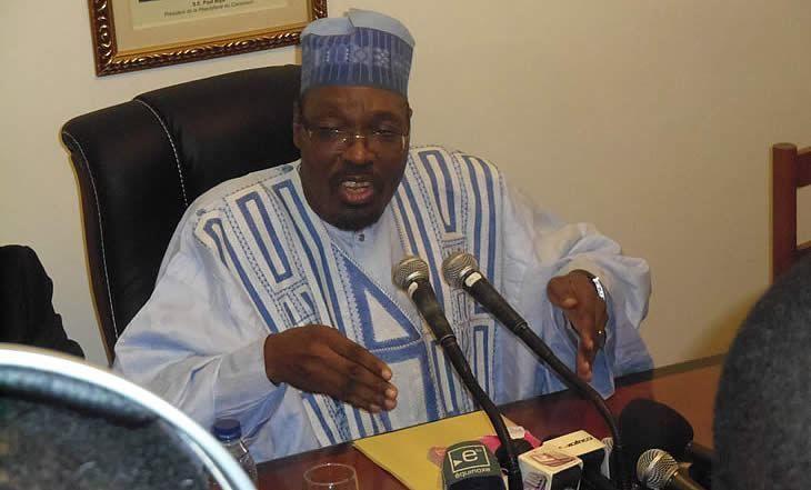 Issa Tchiroma Bakary, ministro de comunicación de Camerún.- El Muni.