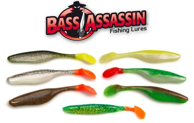 Bass Assasin - Sea Shad Sonderfarben!