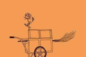 Une rose et un balai, de Michel Simonet - coup de cœur!
