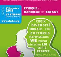 Journée SFERHE AUTOMNE : Ethique et Handicap de...