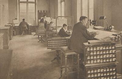 1925, le dispatching-system, une amélioration notable pour les cheminots