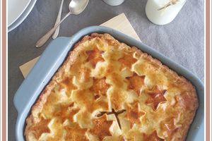 Apple pie :  Tourte aux pommes et fruits secs