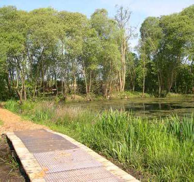 le marais de Gannedel - lebon accueil, la vallée...