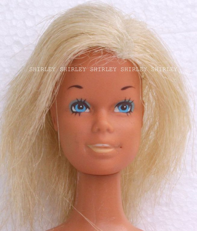 """THE SUNSET MALIBU"" BARBIE DOLL 1971 MATTEL #1067"