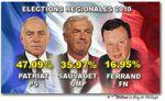 La Bourgogne garde le cap à gauche ...