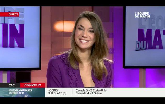 [EN CE MOMENT] CLIO PAJCZER pour L'ÉQUIPE DU MATIN sur L'EQUIPE 21