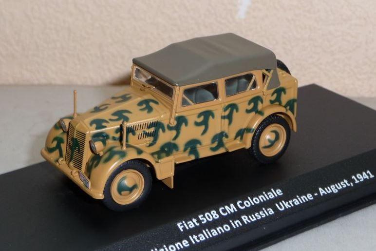 Fiat 508 CM coloniale (1/43 - Altaya)