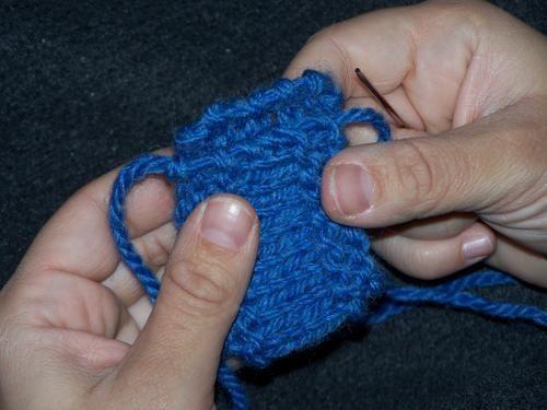 Couture en tricot