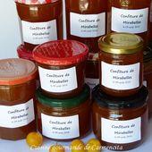 Confiture de mirabelles à la verveine - Cuisine gourmande de Carmencita