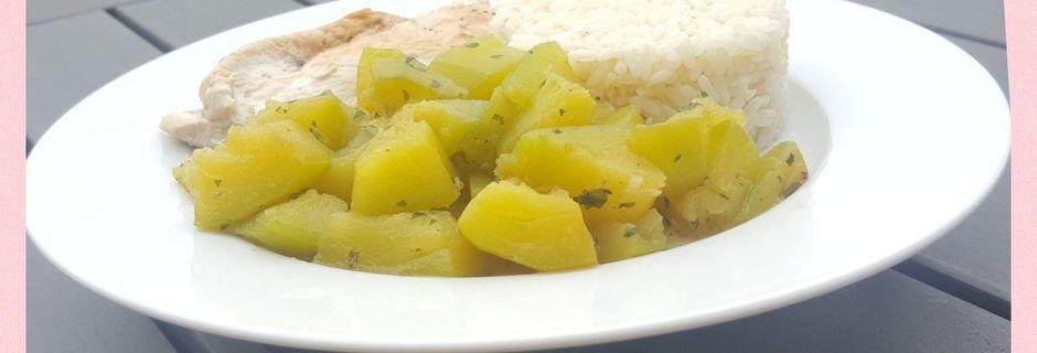 Courgettes au cumin (Cookeo)