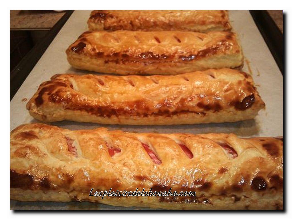 Friand aux saucisses.