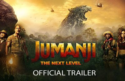 Jumanji Next Level - Bande Annonce VF