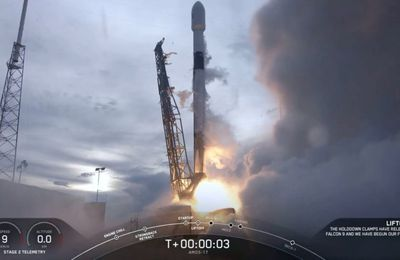 Space X mission AMOS-17 @Spacex @elonmusk