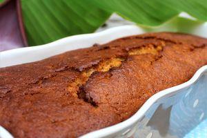 Cake Très Moelleux~Banane~Chocolat au Lait~Tonka