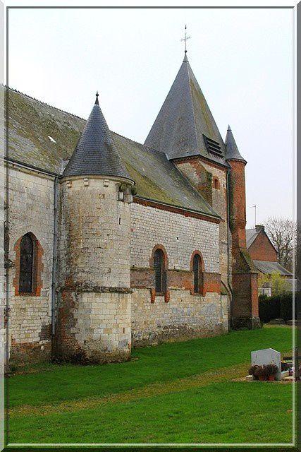 Diaporama église fortifiée de Noircourt