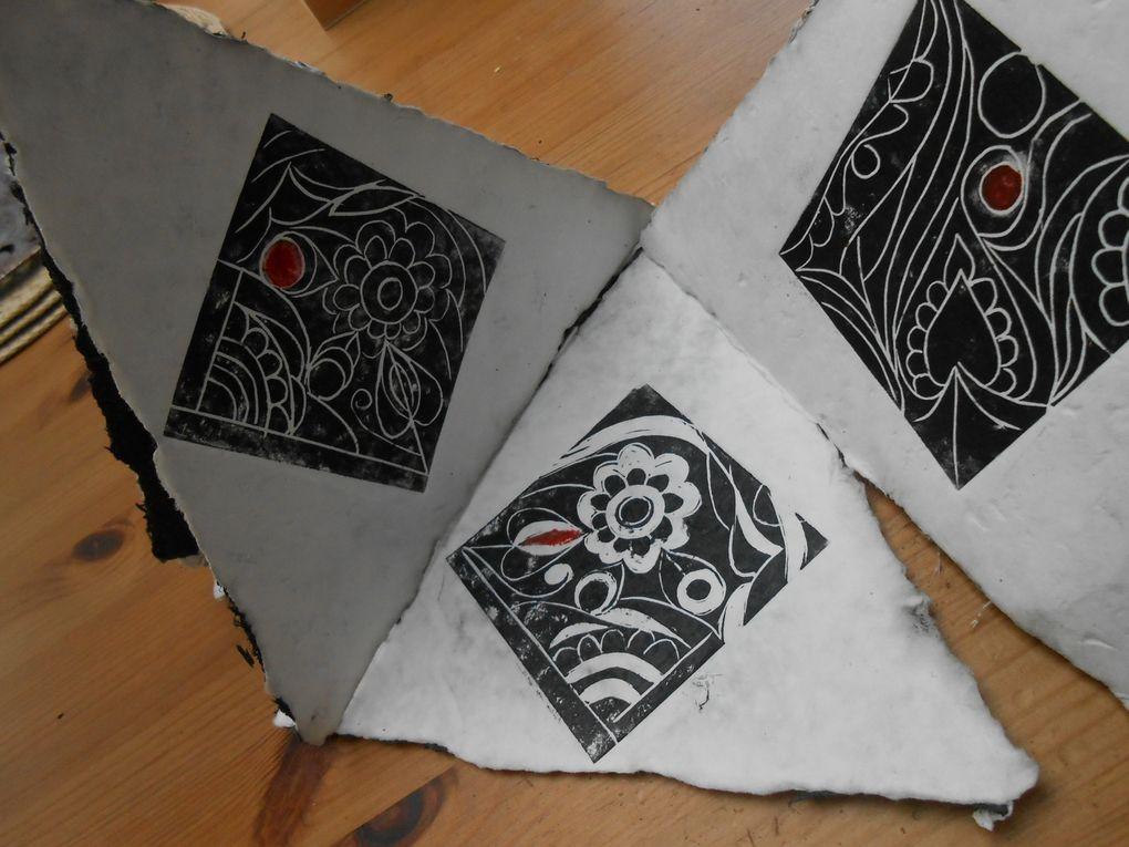 papier de chêne de 4500 ans (morta noir)