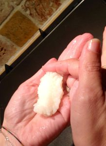 Cuisson du riz pour sushis au thermomix
