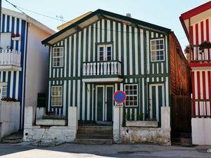 Maisons typiques, Ilhavo (Portugal)