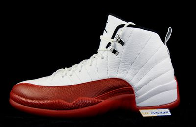 Nike Air Jordan XII Rétro 2009 White/red