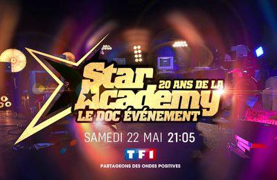 Documentaire : TF1 fête les 20 ans de la Star Academy ce samedi soir