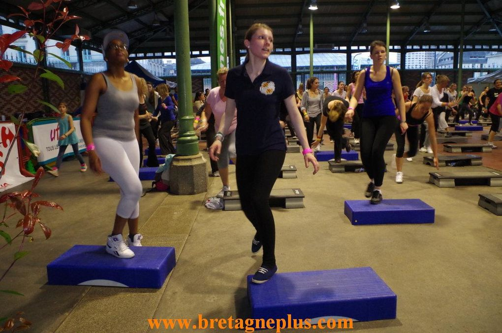 Ce mardi 1er avril, les bénévoles du Cercle Paul Bert de Rennes, organisaient pour la 5ème édition, une soirée Forme Fitness