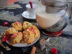 Bouchées Moelleuses à la Citrouille et aux Épices Douces-Vanille Bleue #foodistachallenge12