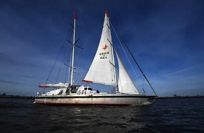 Le voilier-cargo Grain de Sail boucle une première transatlantique et revient à Nantes avec 33 tonnes de cacao