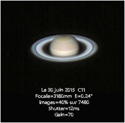 Saturne, la géante gazeuse