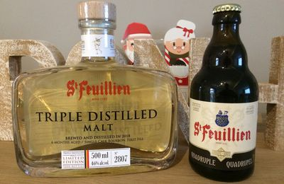 St Feuillien Triple Distilled