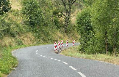 [Entre Roquefort et Tournemire] D'importants travaux de confortement routier