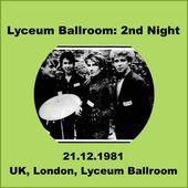 U2 -October Tour - 21/12/1981 Londres Angleterre - Lyceum Ballroom - U2 BLOG