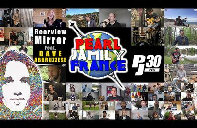 Rearviewmirror cover Pearl Jamily France avec Dave Abbruzzese