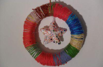 Une rainbow couronne pour Noyel