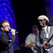 Bono et Nile Rodgers à New York 29/04/2016 - U2 BLOG