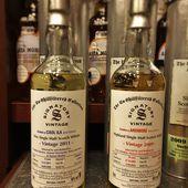 Signatory Vintage - Sélection belge 1/2 - Passion du Whisky