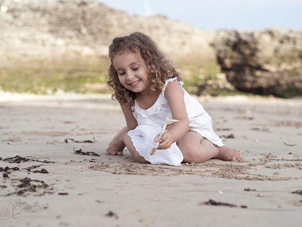 Séance famille plage à Royan