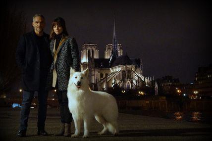 Profilage Philippe Bas avec  Juliette Roudet et I'lander du loup de la vieille eglise