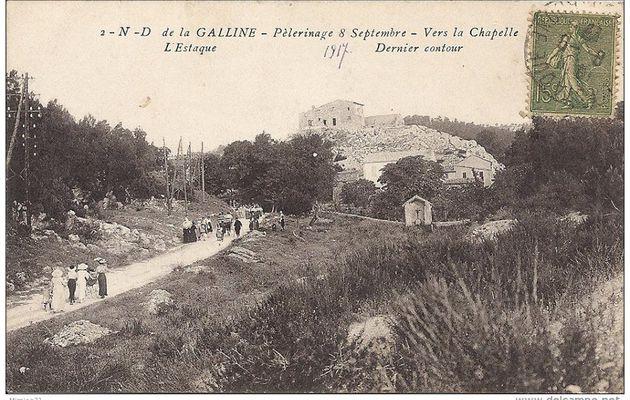 Pèlerinage à la chapelle Notre-Dame de la Galline
