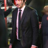 Keanu Reeves films rainy action scene in Times Square for John Wick 3