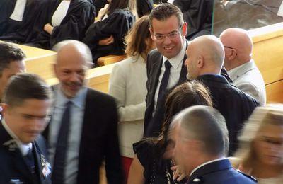 [Tribunal de Grande Instance de Rodez] Installation des nouveaux magistrats en audience solennelle.