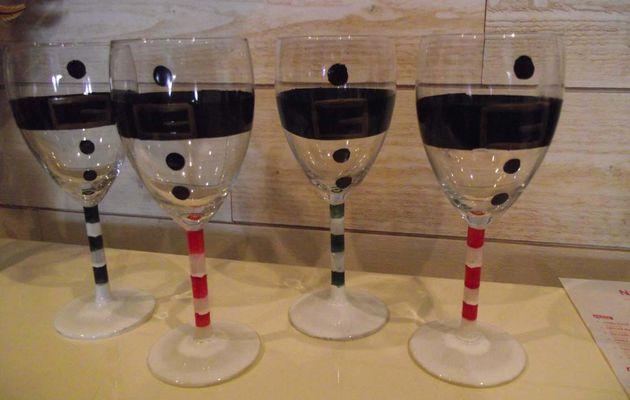 Des verres de Noël